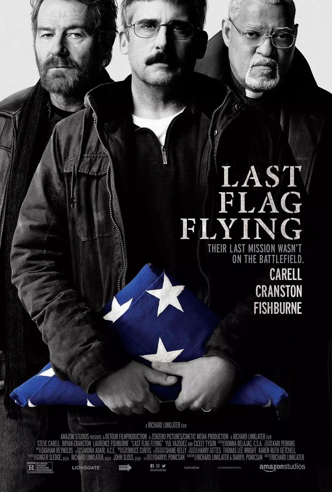 最后的旗帜 [三个老兵的重聚来审视战争]