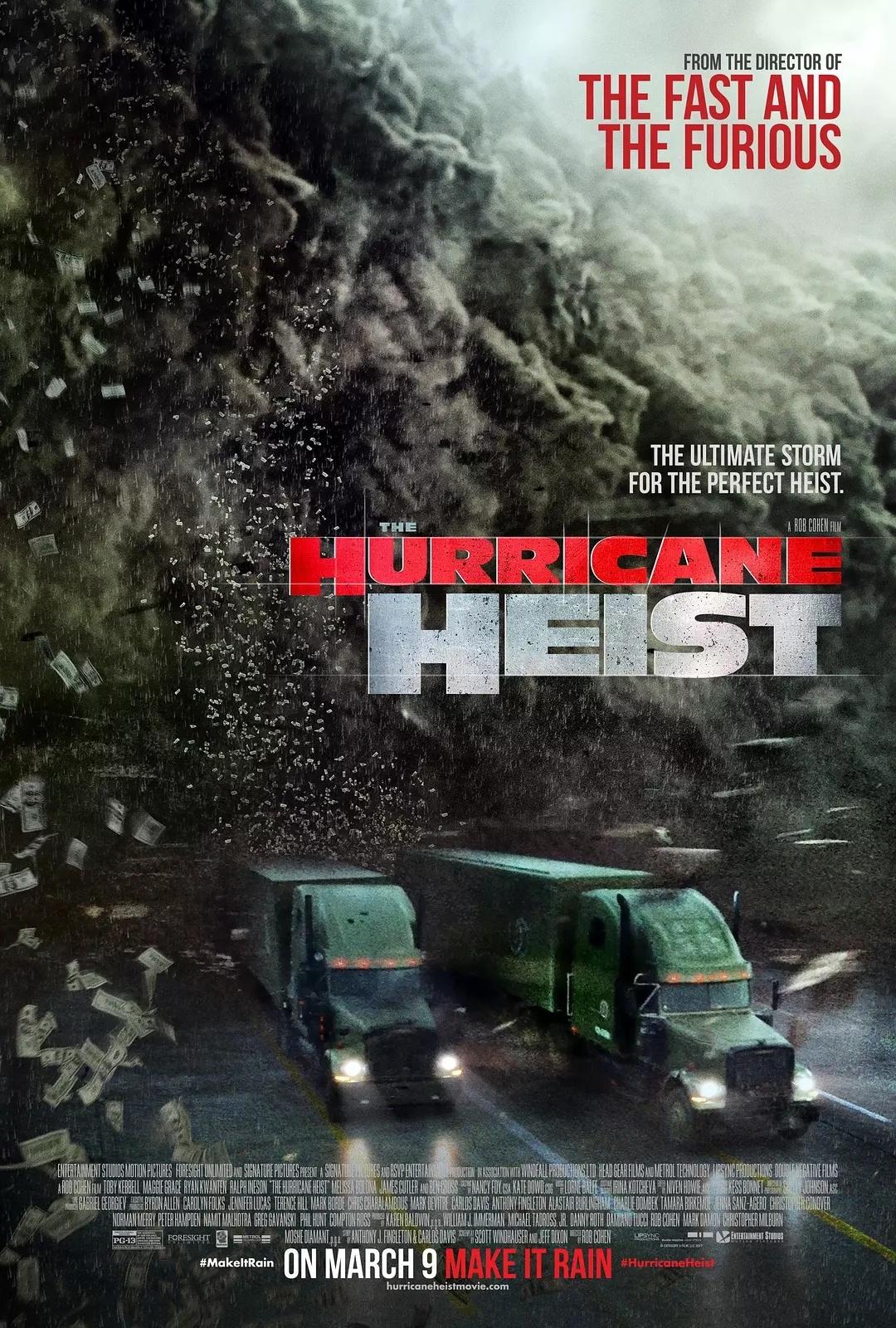 飓风抢劫 [更新蓝光原盘,灾难片+动作片的爆米花电影,飙车抢劫枪战一样不少]