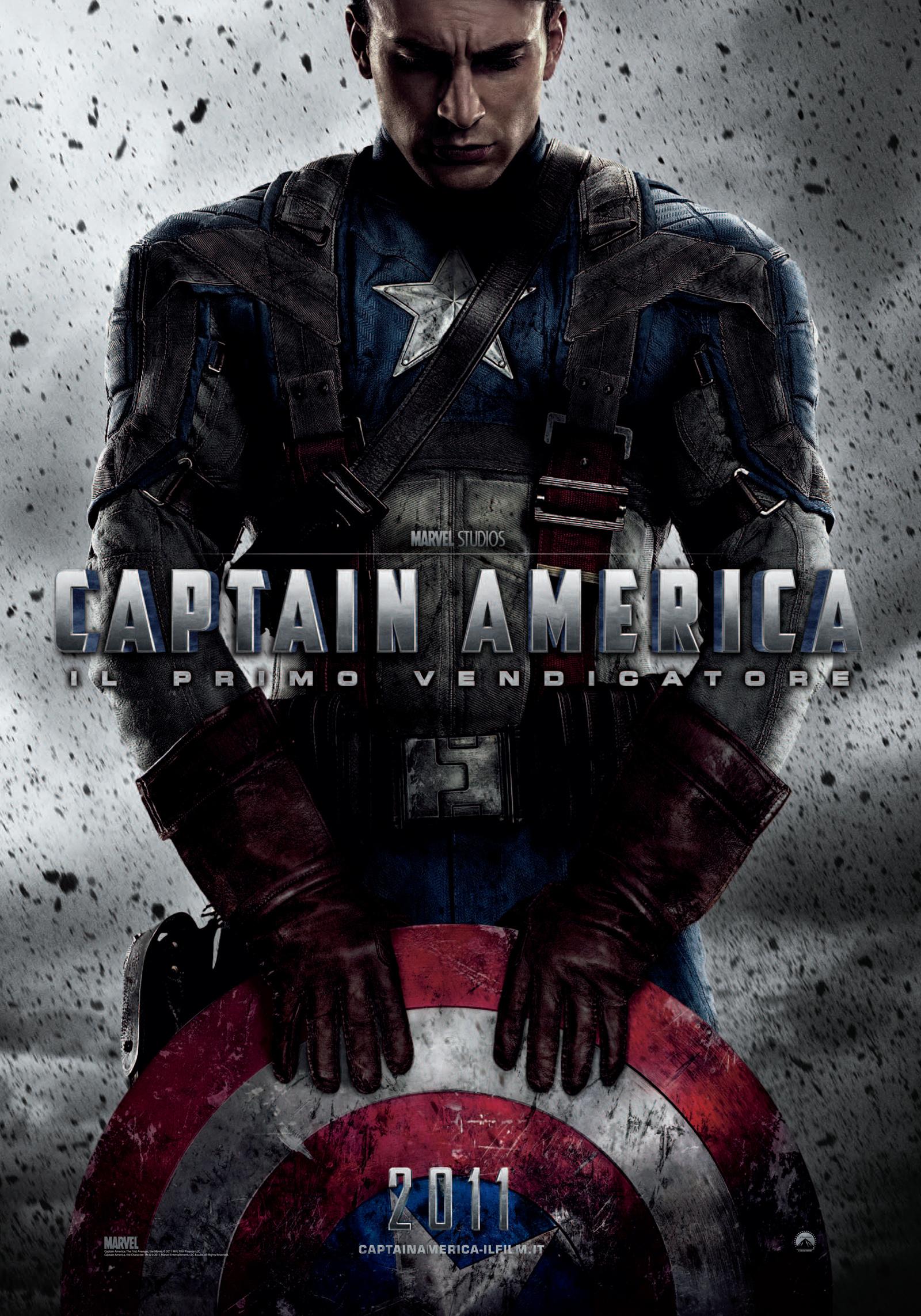 美国队长 [以后我们的抗日剧也可以融入漫威宇宙啊,超能力是百分百手撕敌人,遇到自然系果实就有点不好整了..]