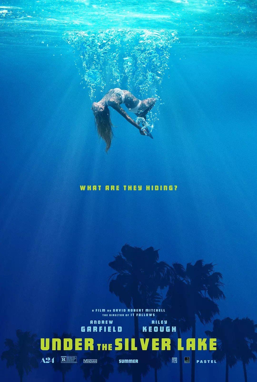 银湖之底 [提名第71届戛纳电影节金棕榈奖,一个发生在现代洛杉矶的犯罪惊悚黑色故事]