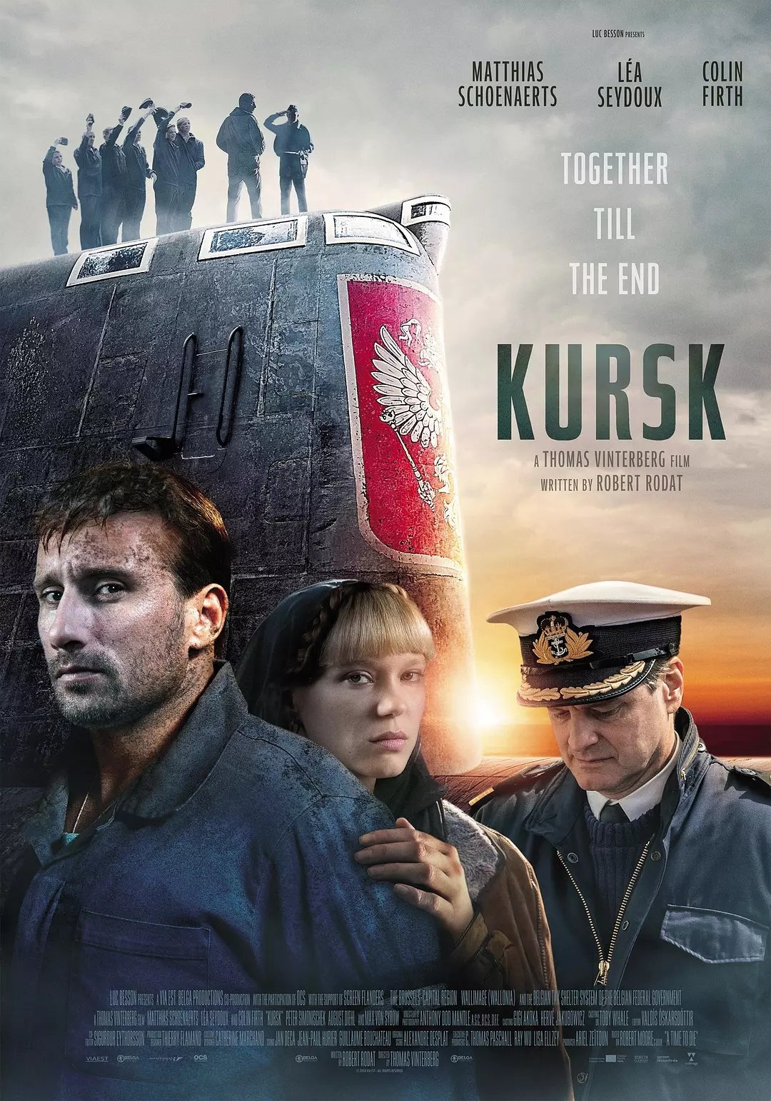 库尔斯克 [又一部潜艇片,大名鼎鼎的库尔斯克号事件,低级失误造成的潜艇事故,我国也有类似的海军361事件]